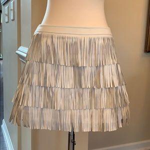 Fringe mini skirt by Atos Lombardini